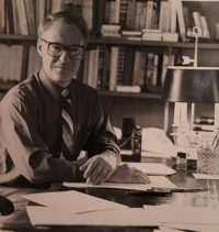 Dr. Grostein at his desk